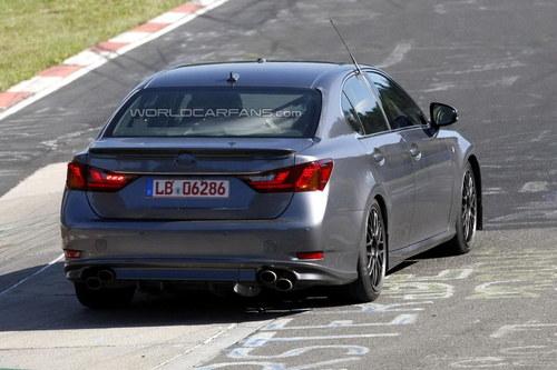 或配5.0L V8引擎 雷克萨斯GS性能版曝光