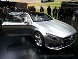2013法兰克福车展 奔驰S级Coupe很迷人