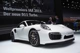 法兰克福车展 保时捷911 Turbo S亮相