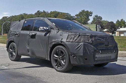 通用汽车已经展开了新一代锐界SUV车型的相关测试工作-将于后年国高清图片