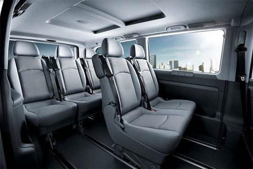 中国车价全球最贵奔驰商务车可以说不 威霆 汽 高清图片