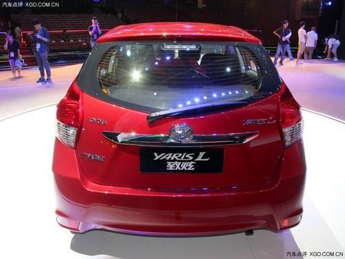 预售6.98万起 丰田致炫广州车展上市