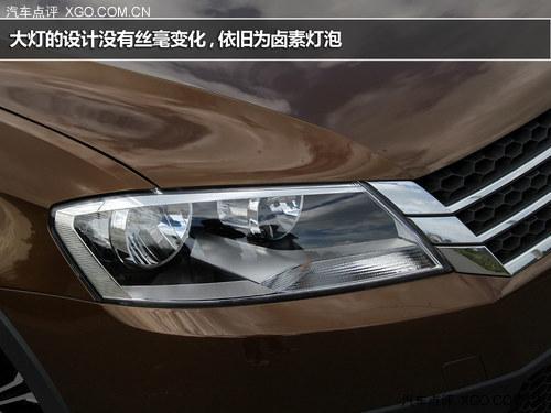 配置高/强调实用性 试驾上海大众朗境