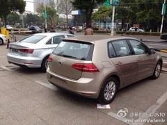 广州车展首发 国产高尔夫7/奥迪A3谍照