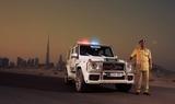 700马力!巴博斯为迪拜警方打造G级警车