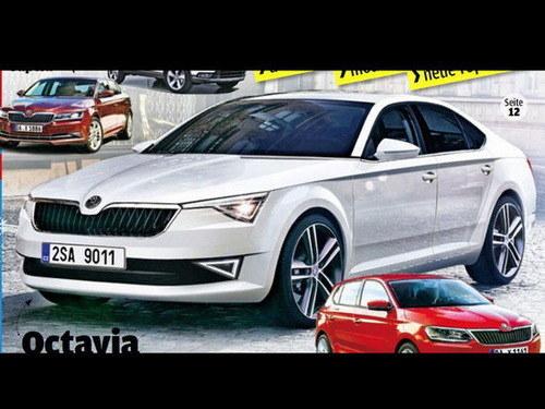 或2015年亮相 斯柯达将推Octavia轿跑车