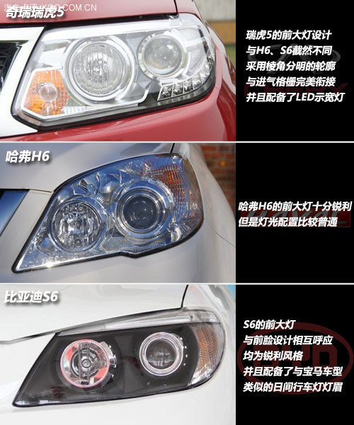 15万以下SUV新选择 瑞虎5对比H6/S6