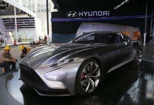 新Coupe雏形 现代HND-9概念车广州亮相