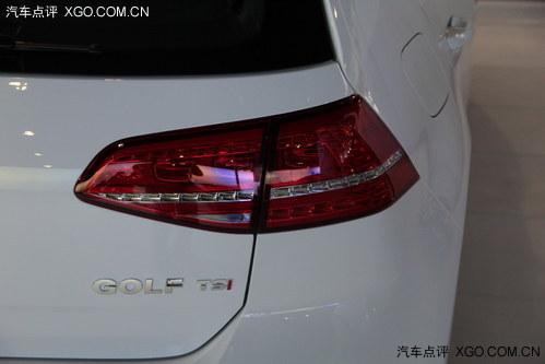 2013广州车展探馆 高尔夫7无伪装实拍