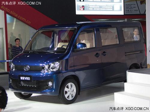 2013广州车展 佳宝V80 1.5L/V80L上市