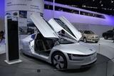 2013广州车展 大众XL1混动车再次亮相