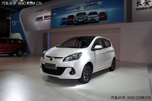 2013广州车展 长安全新奔奔首次亮相