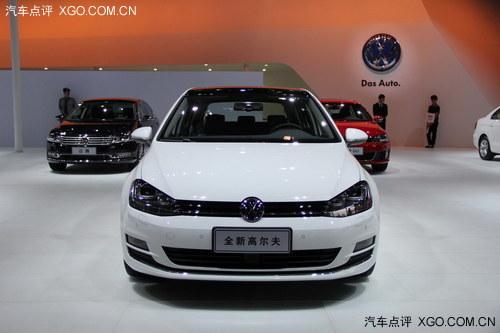 2013广州车展 大众第七代高尔夫亮相