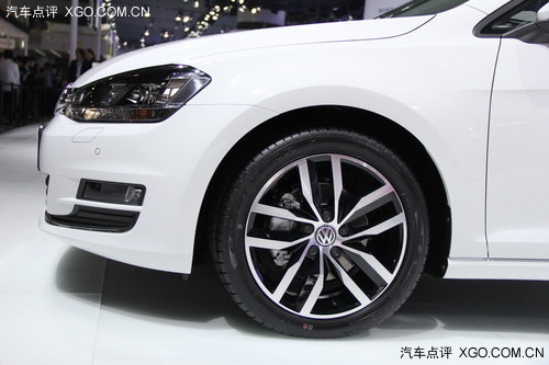 2013广州车展 一汽大众高尔夫7国内首发