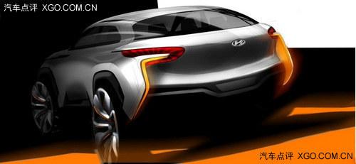 2014年3月发布 现代Intrado概念车预告