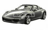 明年3月上市 保时捷911Targa专利图曝光