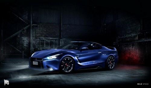 有望2016年推出 日产全新GT-R假想图