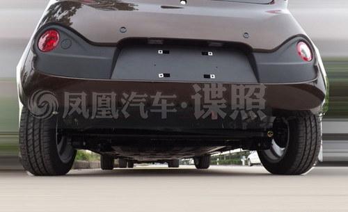 电机升级/明年上市 奇瑞QQ EV谍照曝光