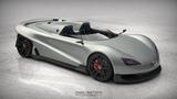 搭载V12发动机 日产Kaze跑车效果图曝光
