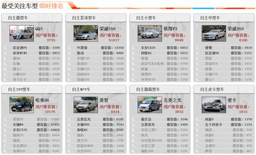 2013自主品牌车型评选用户评选完美收官