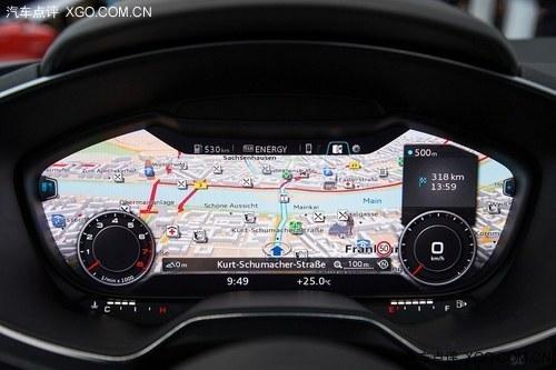 奥迪全新一代仪表盘/空调系统正式发布
