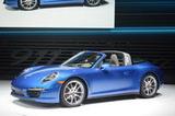 2014北美车展 保时捷新911 Targa发布
