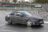 或2015年推出 奔驰全新C63 AMG路试谍照