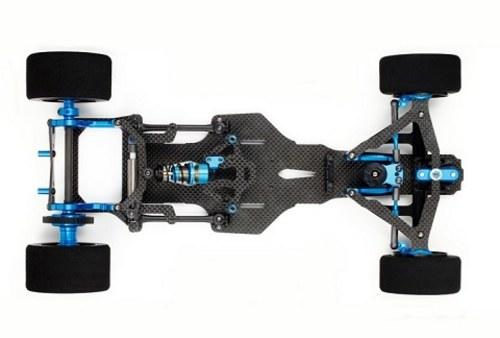 碳纤维结构保证了车架的低重量高强度