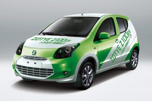 00km h 众泰将推Z100EV电动车高清图片