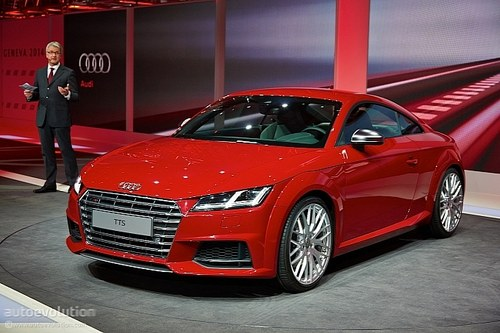 2014日内瓦车展 奥迪全新一代TTS通告