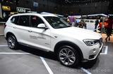 2014日内瓦车展 宝马发布新款X3车型