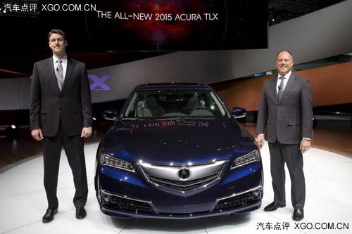 2014纽约车展 讴歌TLX量产版正式发布