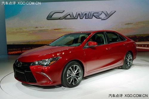 2014纽约车展 丰田新款凯美瑞车型发布