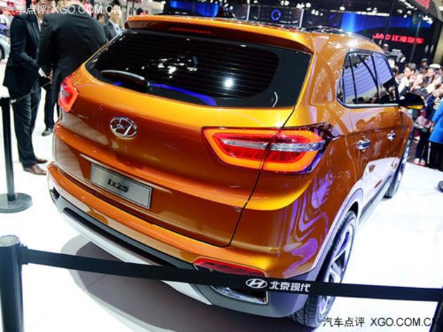 2014北京车展 北京现代ix25正式亮相