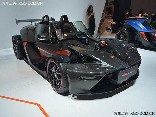 2014北京车展 KTM X-BOW两款车型亮相