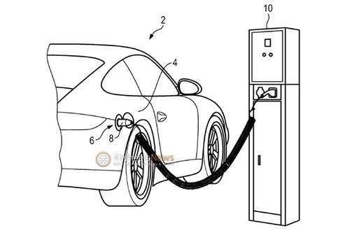 保时捷911插电混动版申报图 约700马力