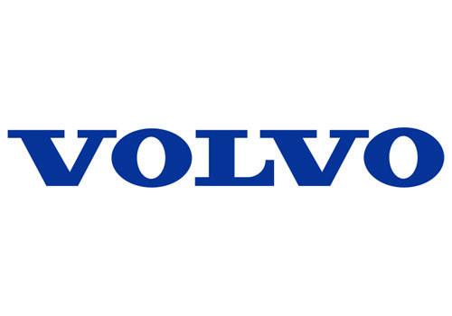 第三部分是volvo公司注册商标,是采用古埃及字体书写的volvo高清图片