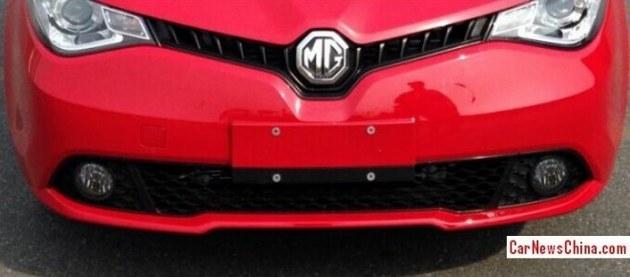 上汽MG5三厢版实车照曝光 或下半年上市