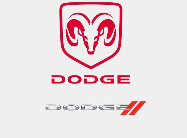 """道奇   """"文字商标采用道奇兄弟的姓氏""""dodge"""",图形商标高清图片"""