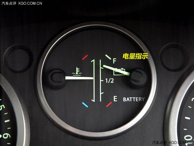 电动汽车仪表盘指示灯图解