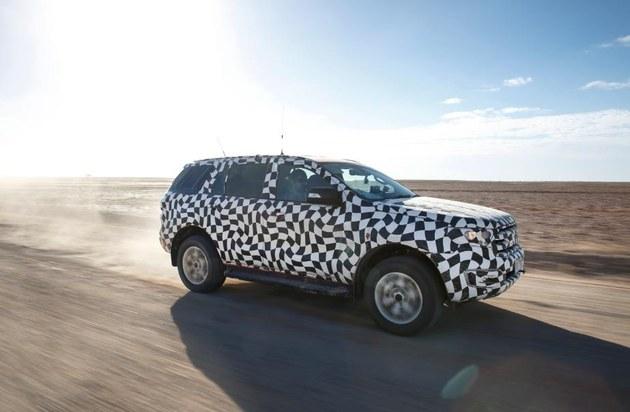 福特汽车打造全新全球suv车型everest