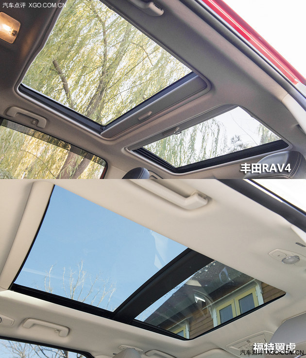 RAV4 长安福特翼虎 丰田 汽车点评高清图片