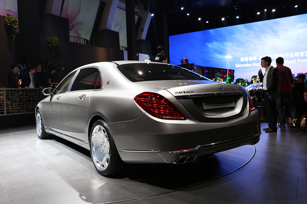 迈巴赫 S级海外售价公布 13万欧元起