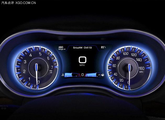 新款克莱斯勒300C官图 洛杉矶车展亮相