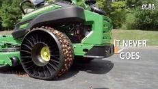米其林非充气轮胎展示