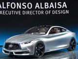 2015北美车展 英菲尼迪Q60概念车实车