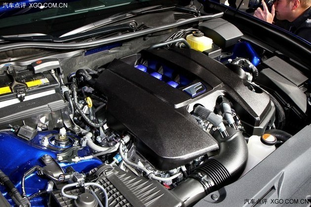 雷克萨斯gs f搭载的2ur gse型5.0l v8发动机 高清图片