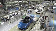丰田MIRAI生产线