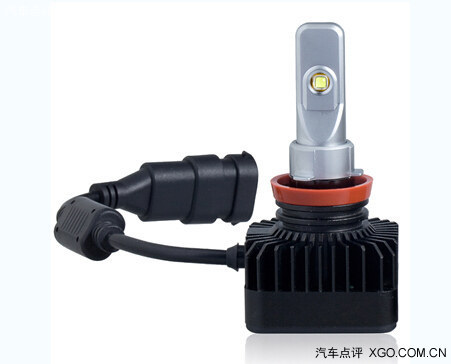雪莱特led大灯使用的高品质灯珠,这是雪莱特led灯亮度提亮80高清图片