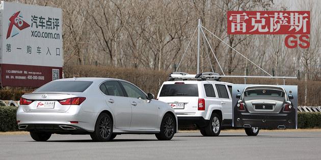 汽车点评主动刹车测试 第一季完结篇高清图片